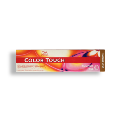 Wella Color Touch 7/75 Medium Brunette Mahogany Blonde