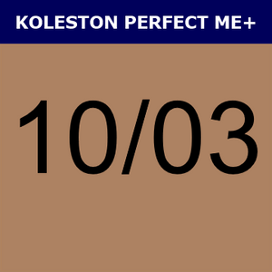 Buy Wella Koleston Perfect Me + 10/03 Lightest Blonde Natural Gold at Wholesale Hair Colour