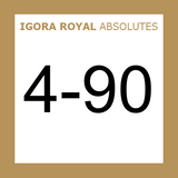 Schwarzkopf Igora Royal 4-90 Absolutes Medium Brown Violet Natural