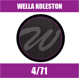Buy Wella Koleston Perfect Me + 4/71 Medium Brown Ash at Wholesale Hair Colour