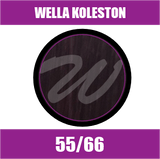 Buy Wella Koleston Perfect Me + 55/66 Light Intense Violet Brown at Wholesale Hair Colour