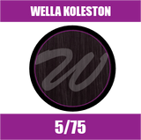 Buy Wella Koleston Perfect Me + 5/75 Light Brunette Mahogany Brown at Wholesale Hair Colour