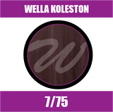 Buy Wella Koleston Perfect Me + 7/75 Medium Brunette Mahogany Blonde at Wholesale Hair Colour