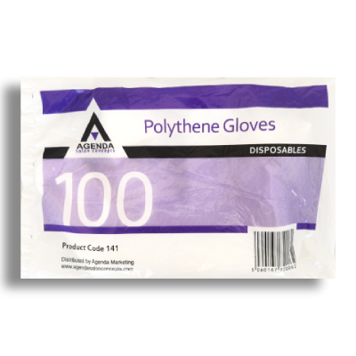 Disposable Polythene Gloves pack of 100
