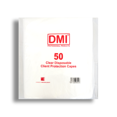 Clear Disposable Client Protection Capes x 50