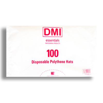 Disposable Polythene Hats x 100