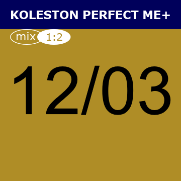 Buy Wella Koleston Perfect Me + 12/03 Special Natural Gold Blonde at Wholesale Hair Colour