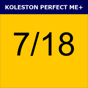 Buy Wella Koleston Perfect Me + 7/18 Medium Blonde Ash Pearl at Wholesale Hair Colour