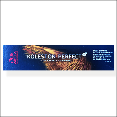 Wella Koleston Perfect Me + 4/75 Medium Brunette Mahogany Brown