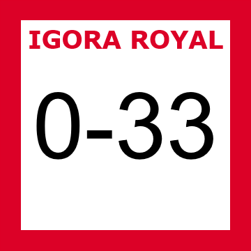 Buy Schwarzkopf Igora Royal 0-33 Anti Red Concentrate at Wholesale Hair Colour