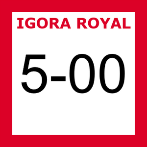 Buy Schwarzkopf Igora Royal 5-00 Natural Extra Light Blonde at Wholesale Hair Colour