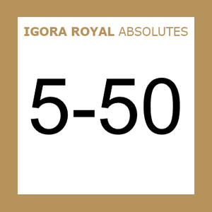 Buy Schwarzkopf Igora Royal 5-50 Absolutes Light Brown Gold at Wholesale Hair Colour