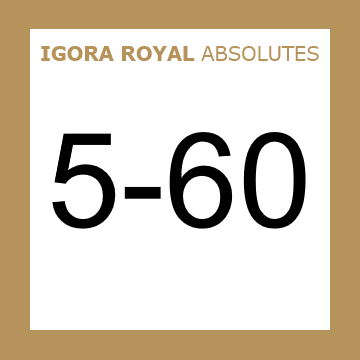 Buy Schwarzkopf Igora Royal 5-60 Absolutes Light Brown Chocolate at Wholesale Hair Colour