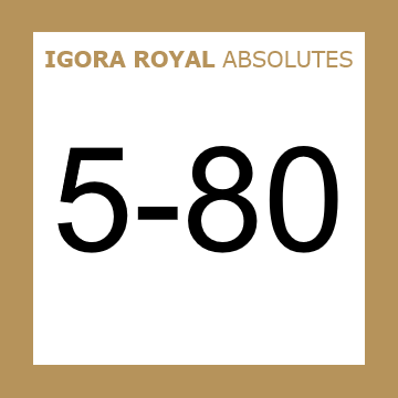 Buy Schwarzkopf Igora Royal 5-80 Absolutes Light Brown Red at Wholesale Hair Colour