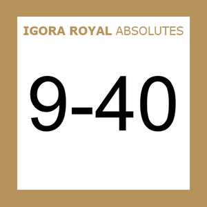 Buy Schwarzkopf Igora Royal 9-40 Absolutes Extra Light Blonde Beige at Wholesale Hair Colour