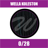 Buy Wella Koleston Perfect Me + 0/28 Matt Blue at Wholesale Hair Colour
