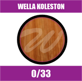 Buy Wella Koleston Perfect Me + 0/33 Intense Gold at Wholesale Hair Colour