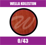 Buy Wella Koleston Perfect Me + 0/43 Red Gold at Wholesale Hair Colour