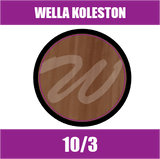 Buy Wella Koleston Perfect Me + 10/3 Lightest Blonde Gold at Wholesale Hair Colour