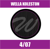 Buy Wella Koleston Perfect Me + 4/07 Medium Natural Brunette Brown at Wholesale Hair Colour
