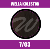 Buy Wella Koleston Perfect Me + 7/03 Medium Natural Gold Blonde at Wholesale Hair Colour