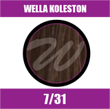 Buy Wella Koleston Perfect Me + 7/31 Medium Blonde Gold Ash at Wholesale Hair Colour