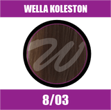 Buy Wella Koleston Perfect Me + 8/03 Light Natural Gold Blonde at Wholesale Hair Colour