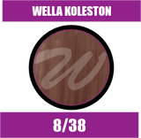 Buy Wella Koleston Perfect Me + 8/38 Light Gold Pearl Blonde at Wholesale Hair Colour