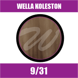 Buy Wella Koleston Perfect Me + 9/31 Very Light Blonde Gold Ash at Wholesale Hair Colour