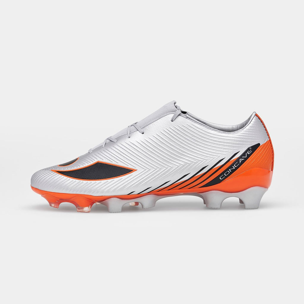 Concave Volt + TechStitch FG - Silver/Red Orange