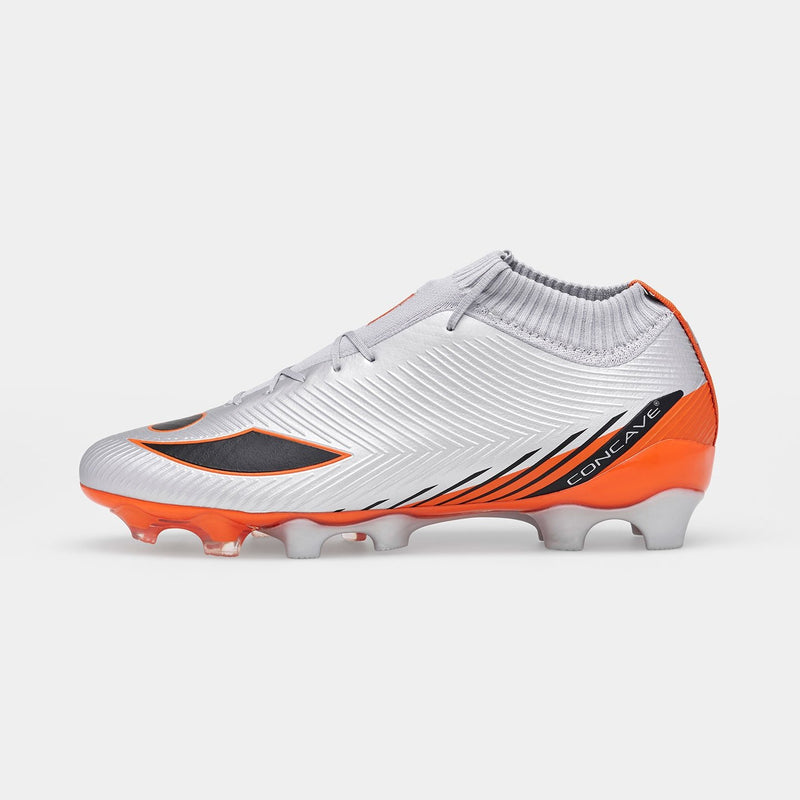 Concave Volt + Knit FG - Silver/Red Orange