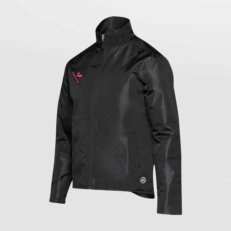 Concave Performance Spray Jacket - Black/Pink
