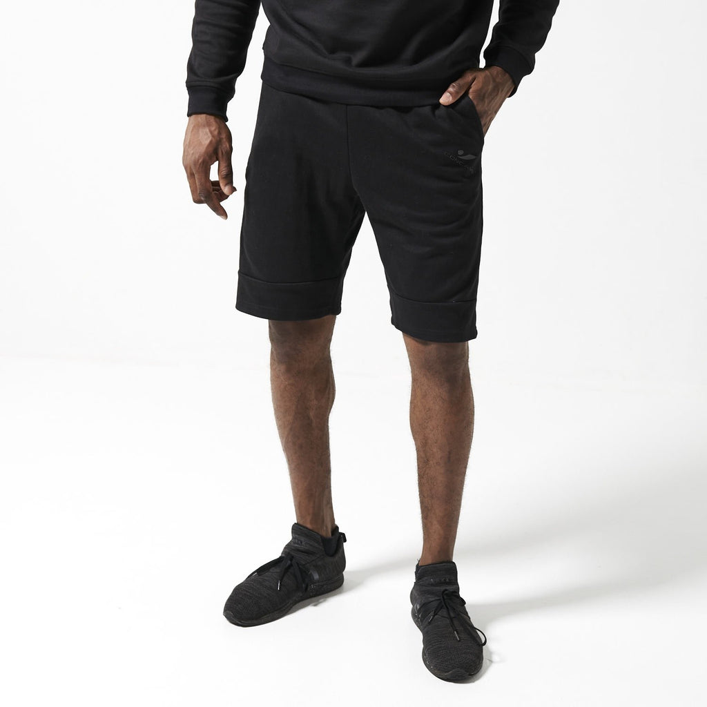 Concave Casual Shorts - Black/Black