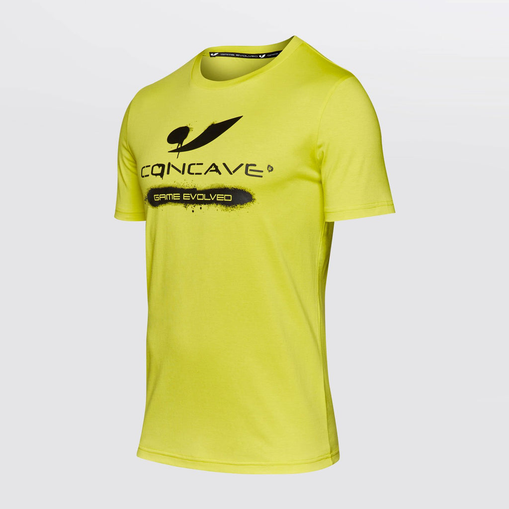 Concave T-Shirt - Yellow/Black