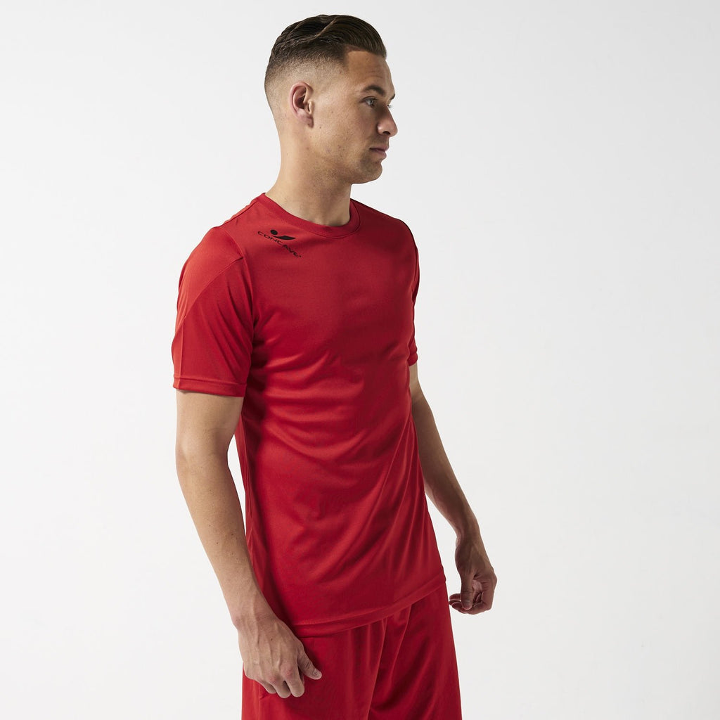 Concave Performance Top - Red/Black