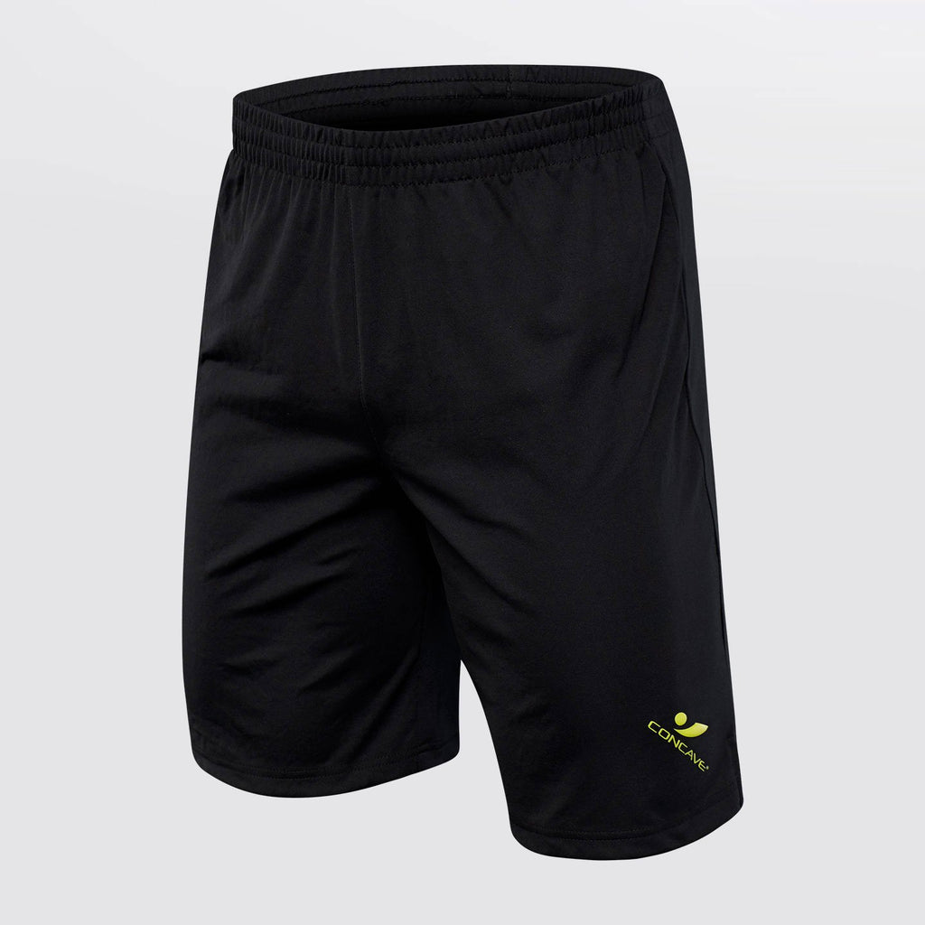 Concave Performance Shorts - Black/Neon Yellow