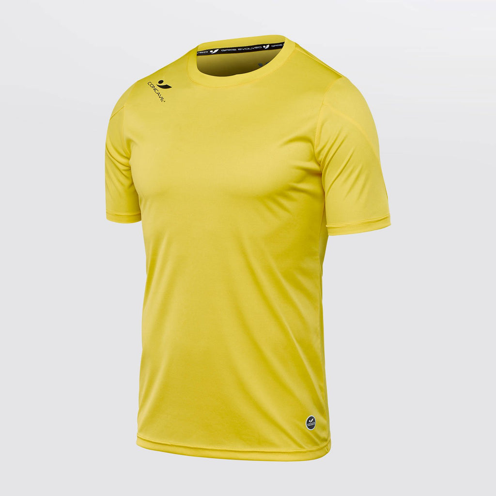 Concave Performance Top - Neon Yellow/Black
