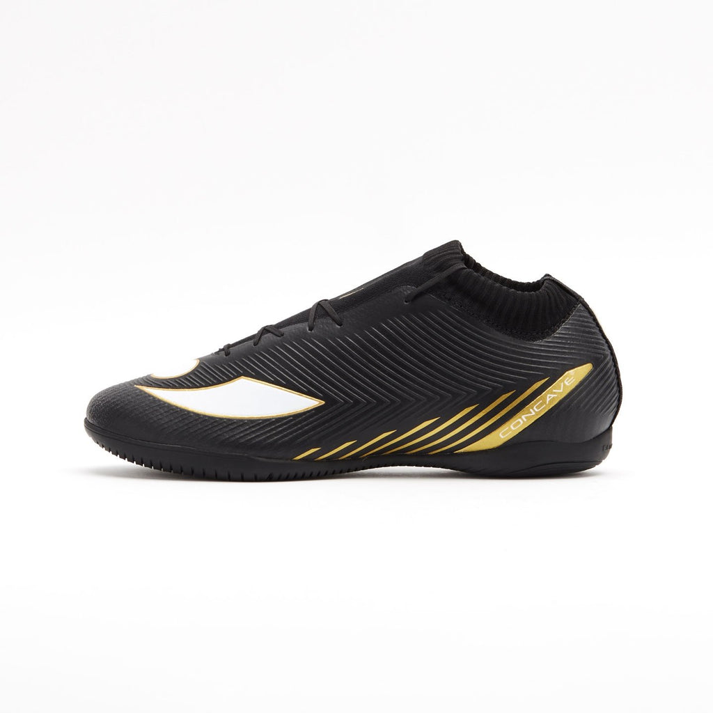 Concave Volt + Knit IN - Black/Gold