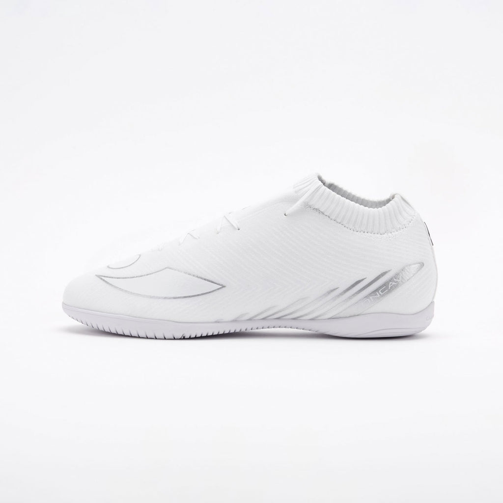 Concave Volt + Knit IN - White/Silver