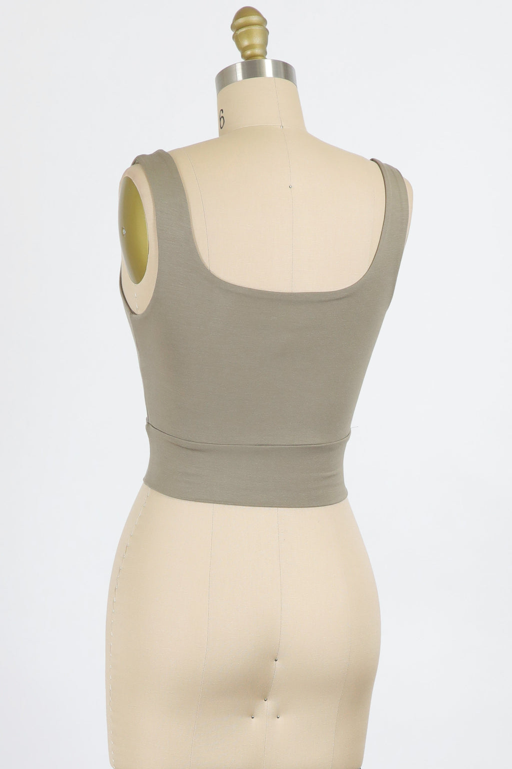Thick Strap Modal Crop (Oak)
