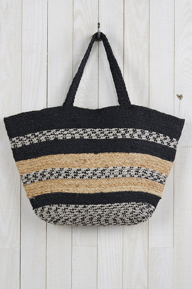 Vacation Ready Jute Tote Bag