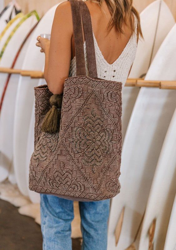 Colleen Tote (Brown)