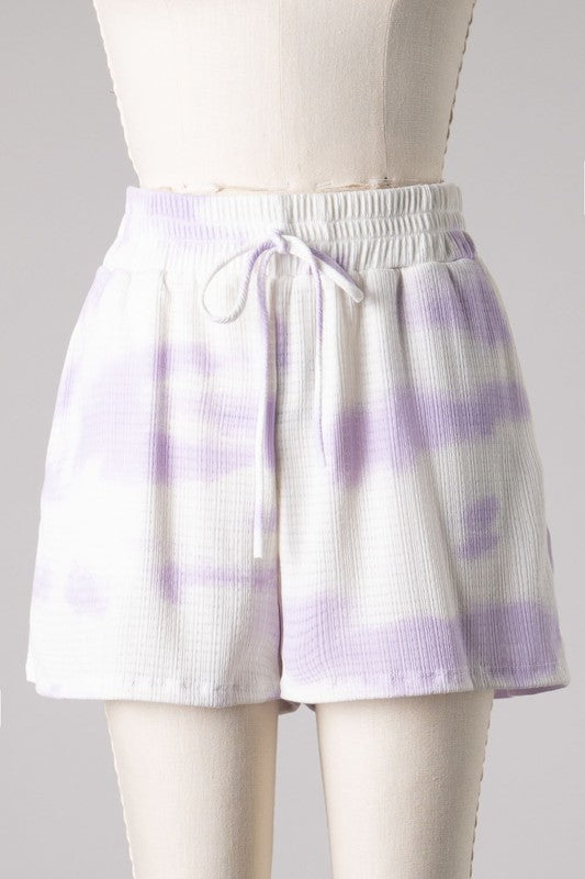 Keep It Casual Shorts (Lavender)