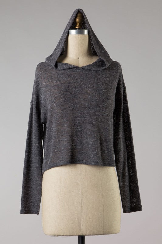 Comfy Cozy Cute Hoodie (Charcoal)