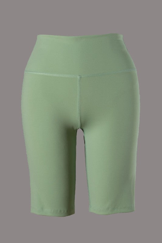 Nola Bike Short (Green)