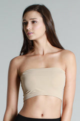 Seamless Bandeau Bra (10 Colors)