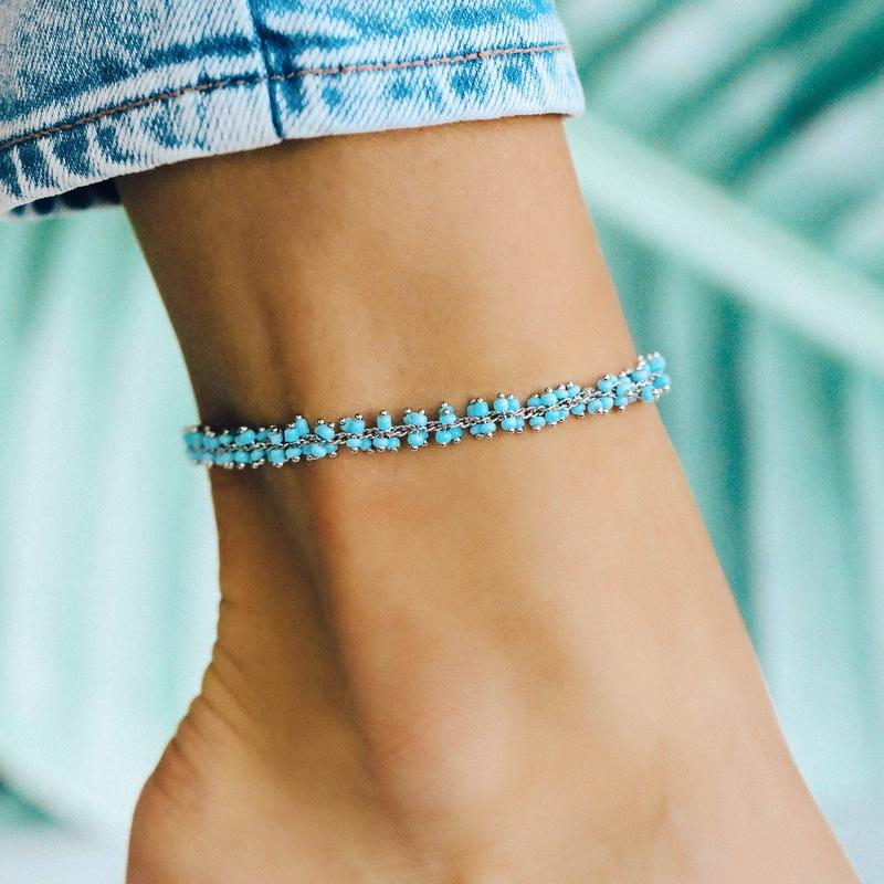 Tulum Anklet (Silver)