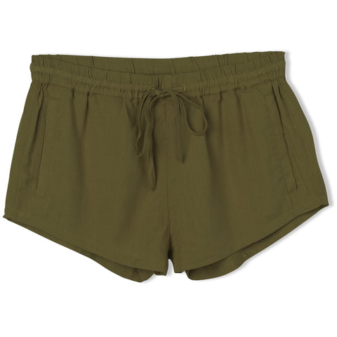 Cut Corners Elastic Soft Short (Army Fade)
