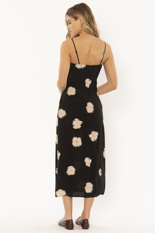 Kaia Slip Dress (BLK)