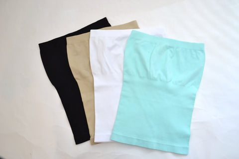 Seamless Tube Top (4 Colors)